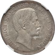 1 Gulden - Friedrich I -  obverse