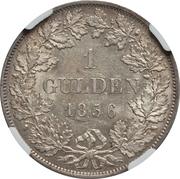 1 Gulden - Friedrich I – reverse