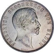 1 Gulden - Friedrich I (Mint Visit) – obverse
