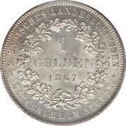 1 Gulden - Friedrich I (Shooting Festival) – reverse