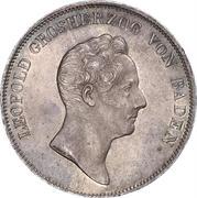 1 Kronenthaler - Leopold I. (Ausbeute-Kronentaler) – obverse