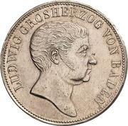 2 Gulden - Ludwig I – obverse