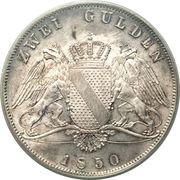2 Gulden - Leopold – reverse