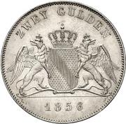 2 Gulden - Friedrich I – reverse