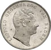 2 Thaler / 3½ Gulden - Leopold I – obverse