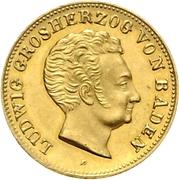 5 Gulden - Ludwig I – obverse