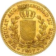 1 Ducat - Leopold I – reverse