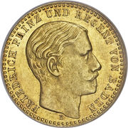 1 Ducat - Friedrich I (Trade Coinage) – obverse