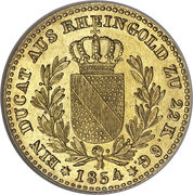 1 Ducat - Friedrich I (Trade Coinage) – reverse