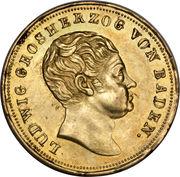 10 Gulden - Ludwig I -  obverse