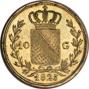 10 Gulden - Ludwig I -  reverse