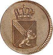 ½ Kreuzer - Karl I Friedrich – obverse