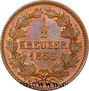 ½ Kreuzer - Friedrich I. – reverse