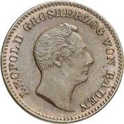 ½ Kreuzer - Leopold -  obverse