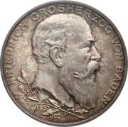 5 Mark - Friedrich I (Reign) – obverse