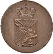 1 Kreuzer - Karl I Friedrich – obverse