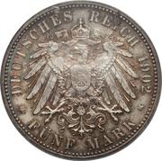 5 Mark - Friedrich I (Reign) – reverse