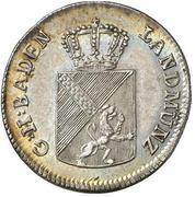 6 Kreuzer - Karl I Friedrich – obverse