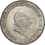 20 Kreuzer - Karl I Friedrich – obverse