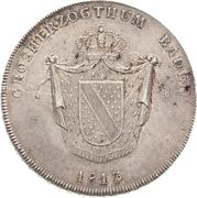 1 Kronenthaler - Karl II Ludwig Friedrich – obverse
