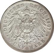 5 Mark - Friedrich I – reverse