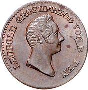 ½ Kreuzer - Leopold I. – obverse