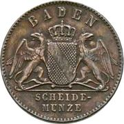 1 Kreuzer - Friedrich I. (Victory over France) – obverse