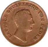 1 Kreuzer - Leopold I – obverse