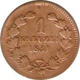 1 Kreuzer - Leopold I – reverse
