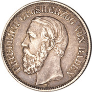 2 Mark - Friedrich I – obverse