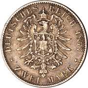 2 Mark - Friedrich I – reverse