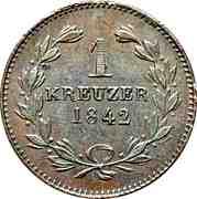 1 Kreuzer - Leopold I. – reverse