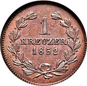 1 Kreuzer - Leopold – reverse