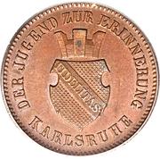 1 Kreuzer - Friedrich I. (Victory over France) – obverse