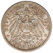 5 Mark - Friedrich I (Death of Friedrich I) – reverse