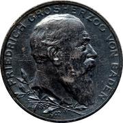 2 Mark - Friedrich I (Reign) – obverse