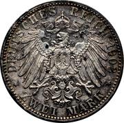 2 Mark - Friedrich I (Reign) – reverse