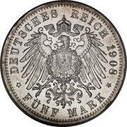 5 Mark - Friedrich II – reverse