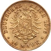 10 Mark - Friedrich I – reverse