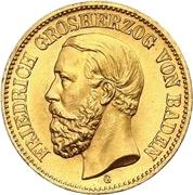 20 Mark - Friedrich I -  obverse