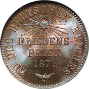 1 Kreuzer - Friedrich I. (Victory over France) – reverse