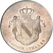 1 Kronenthaler - Ludwig I – reverse