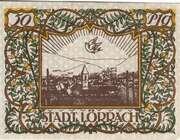50 Pfennig (Lörrach) – reverse