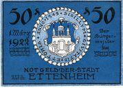 50 Pfennig (Ettenheim) – obverse