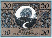 50 Pfennig (Ettenheim) – reverse