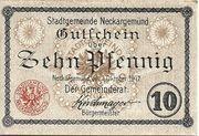10 Pfennig (Neckargemünd) – obverse