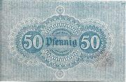 50 Pfennig (Neckargemünd) – reverse