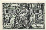 50 Pfennig (St. Blasien) – obverse