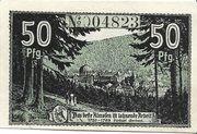 50 Pfennig (St. Blasien) – reverse