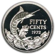 50 Cents - Elizabeth II – reverse